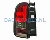 ACHTERLICHT SET LED DACIA DUSTER ROOD/SMOKE