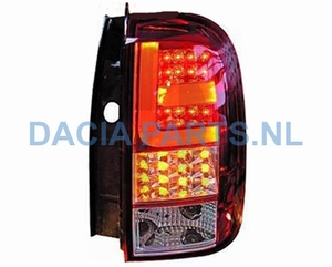 ACHTERLICHT SET LED DACIA DUSTER CHROME/ROOD