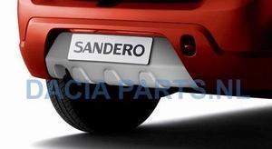 ACHTERSKIRT (DIFFUSER) DACIA SANDERO 08-